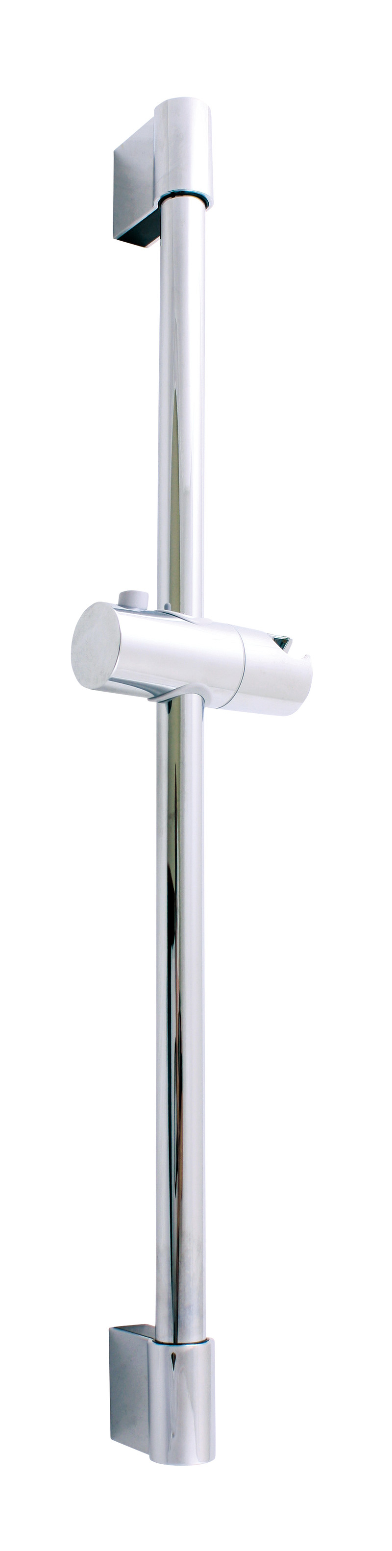 Shower bars with movable holder for hand shower