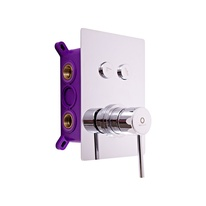 Built-in shower lever mixer SIENA