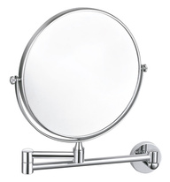 Cosmetic bath mirror without light