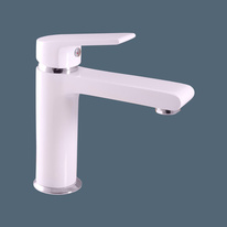 Washbasin faucet  COLORADO  WHITE/CHROME