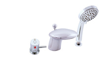 Bath lever mixer THERMOSTATIC - 3 hole