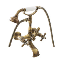 Bath mixer MORAVA RETRO bronze