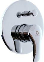 Built-in-shower lever RIO