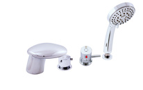 Bath faucet  THERMOSTATIC - 4 hole