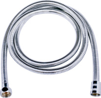 Double-lock shower hose